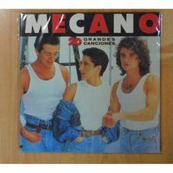 MECANO - 20 GRANDES CANCIONES - LP