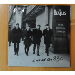 THE BEATLES - LIVE AT THE BBC - GATEFOLD - 3 LP