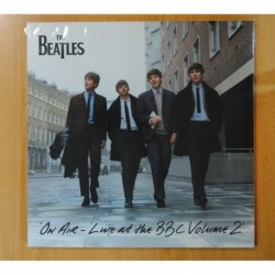 THE BEATLES - ON AIR LIVE AT THE BBC VOLUME 2 - GATEFOLD - 3 LP