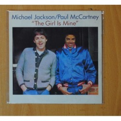 MICHAEL JACKSON / PAUL MCCARTNEY - THE GIRL IS MINE - SINGLE