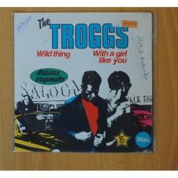 THE TROGGS - WILD THING - SINGLE