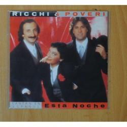 RICCHI & POVERI - ESTA NOCHE - SINGLE
