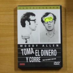 WOODY ALLEN - TOMA EL DINERO Y CORRE - DVD