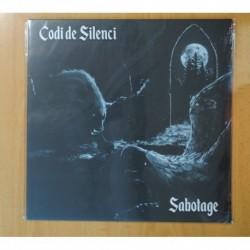 CODI DE SILENCI - SABOTAGE - MAXI