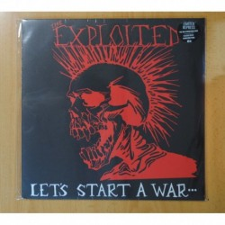 THE EXPLOITED - LET S START A WAR SAID MAGGIE ONE DAY - LP