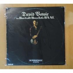 DAVID BOWIE - IN BERTOLT BRECHT´S BAAL - MAXI