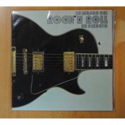 VARIOS - LO MEJOR DEL ROCK N ROLL EN DIRECTO - LP
