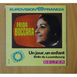FRIDA BOCCARA - UN JOUR, UN ENFANT / BELLE DU LUXEMBOURG - SINGLE