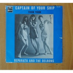 REPARATA AND THE DELRONS - CAPTAIN OF YOUR SHIP / TOOM TOOM - SINGLE