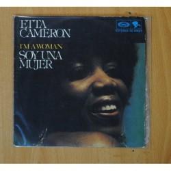 ETTA CAMERON - I M A WOMAN / HE S EVERYWHERE - SINGLE
