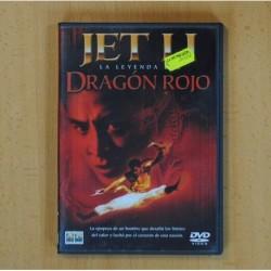 JET LI LA LEYENDA DEL DRAGON ROJO - DVD