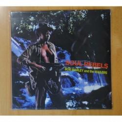 BOB MARLEY AND THE WAILERS - SOUL REBELS - LP
