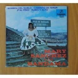 MARY SANCHEZ Y LOS BANDAMA - SOMBRA DEL NUBLO + 3 - GATEFOLD - EP