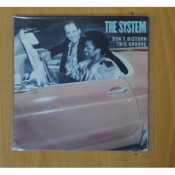 THE SYSTEM - DON´T DISTURB THIS GROOVE - SINGLE