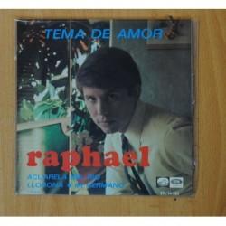 RAPHAEL - TEMA DE AMOR + 3 - EP