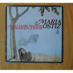 MARIA OSTIZ - ALELUYA DEL SILENCIO - SINGLE