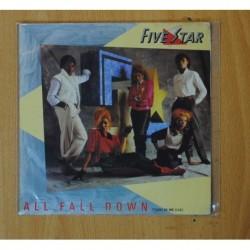 FIVE STAR - ALL FALL DOWN - SINGLE