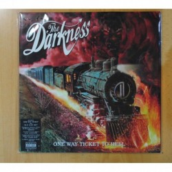 THE DARKNESS - ONE WAY TICKET TO HELL AND BACK - GATEFOLD - LP