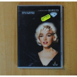 MARILYN MONROE - SUS ULTIMOS DIAS - DVD