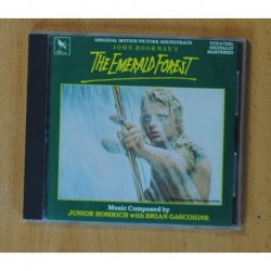 JUNIOR HOMRICH WITH BRIAN GASCOIGNE - THE EMERALD FOREST - BSO - CD