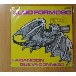 XULIO FORMOSO - LA CANCION QUE VA CONMIGO - LP