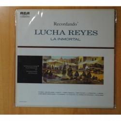 LUCHA REYES - RECORDANDO LUCHA REYES LA INMORTAL - LP