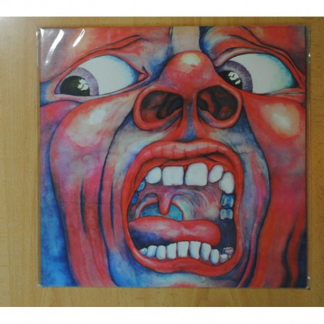 KING CRIMSON - IN THE COURT OF THE CRIMSON KING / LARKS TONGUES IN ASPIC - LP
