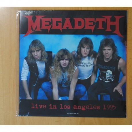 MEGADETH - LIVE IN LOS ANGELES 1995 - LP