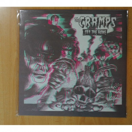 THE CRAMPS - OFF THE BONE - LP