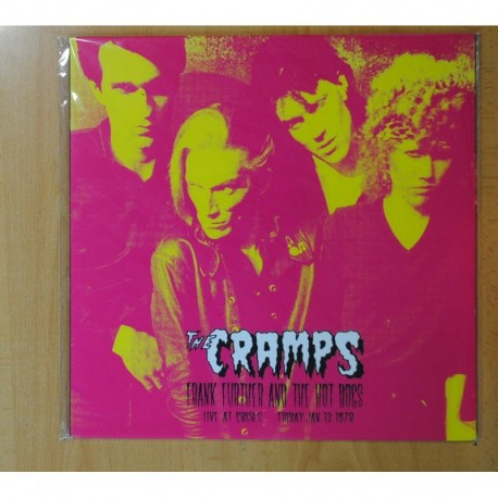 THE CRAMPS - FRANK FURTHER AND THE HOT DOGS - LP