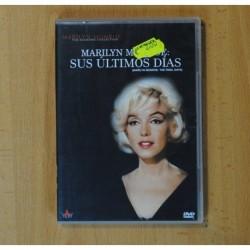 MARILY MONROE - SUS ULTIMOS DIAS - DVD