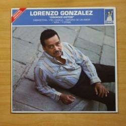 LORENZO GONZALEZ - GRANDES EXITOS - LP