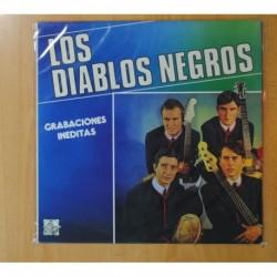 LOS DIABLOS NEGROS - GRABACIONES INEDITAS - LP