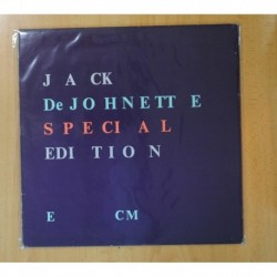 JACK DEJOHNETTE - SPECIAL EDITION - LP