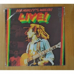 BOB MARLEY & THE WAILERS - LIVE - LP