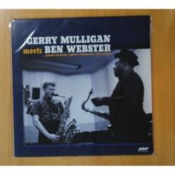 GERRY MULLIGAN / BEN WEBSTER - GERRY MULLIGAN MEETS BEN WEBSTER - LP