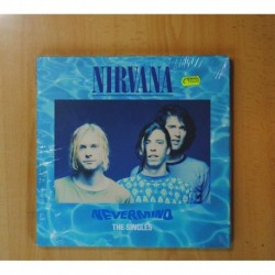 NIRVANA - NEVERMIND THE SINGLES - BOX 10 PULGADAS