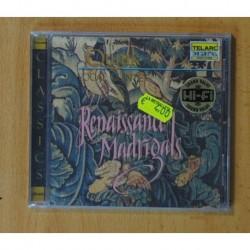QUINK VOCAL QUINTET - RENAISSANCE MADRIGALS - CD