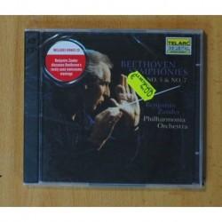 LUDWING VAN BEETHOVEN - SYMPHONY NO. 5 NO. 7 - CD