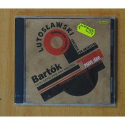 PAAVO JARVI / CINCINNATI SYMPHONY ORCHESTRA - LUTOSLAWSKI / BARTOK - CD