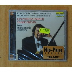 TCHAIKOVSKY / PROKOFIEV - PIANO CONCERTO NO. 1 NO. 3 - CD