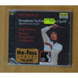 LUDWIG VAN BEETHOVEN / SEIJI OZAWA - SYMPHONY NO. 5 EGMONT OVERTURE - CD