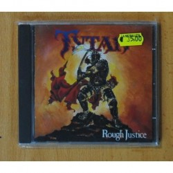 TYTAN - ROUGH JUSTICE - CD