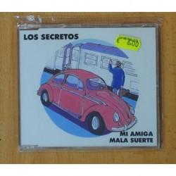 LOS SECRETOS - MI AMIGA MALA SUERTE - CD