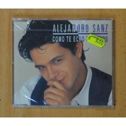 ALEJANDRO SANZ - COMO TE ECHO DE MENOS - CD