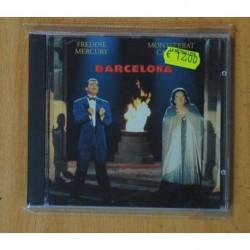 FREDDIE MERCURY - MONTSERRAT CABALLE - CD