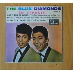 LOS BLUE DIAMONDS - EN ESPAÑOL - QUE TE DEJE DE QUERER + 3 - EP