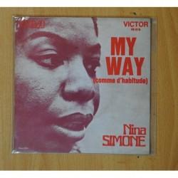 NINA SIMONE - MY WAY - SINGLE