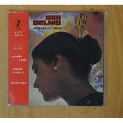 GIGI DELMO - ACORDEON Y RITMO VOL II - CELOS + 3 - EP