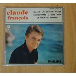 CLAUDE FRANCOIS - QUAND UN BATEAU PASSE + 3 - EP